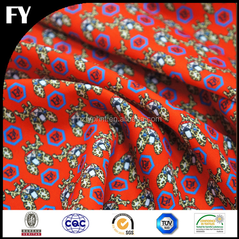 Best Selling Cotton Poplin Custom Digital Print 100% Cotton Poplin Textile Fabric for Men's Shirt with Your Own Design