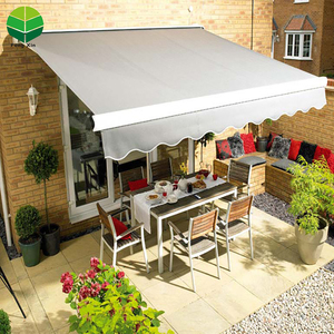 Fengxin High quality full cassette waterproof folding arm metal retractable awnings