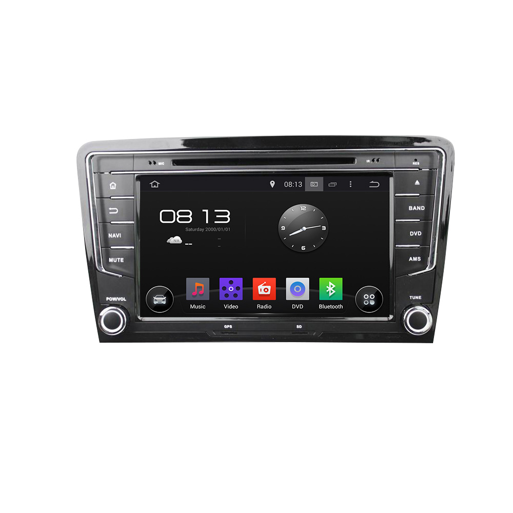 High quality in-dash 2 din 8 inch HD touch screen Android 5.1.1 car dvd player with gps radio for vw Bora/Santana 2013- 2015