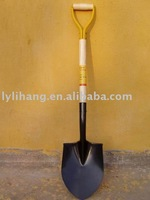 S518 Shovel with wooden handle