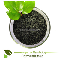 HAY quick released type potassium humate ball granule organic fertilizer 65%HA +12%K2O+ 100% water soluble