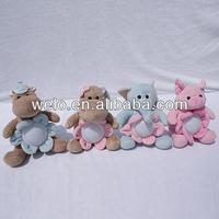 Stuffed plush night light toys
