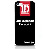 brand mobile phone case for iphone 5/5s/5c direction one fan world design hard cell phone cover