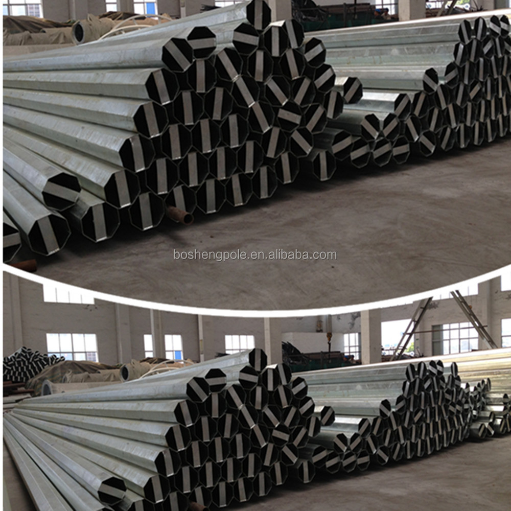 Hot Sales Galvanized Metal Post, Steel Poles, Electric Poles
