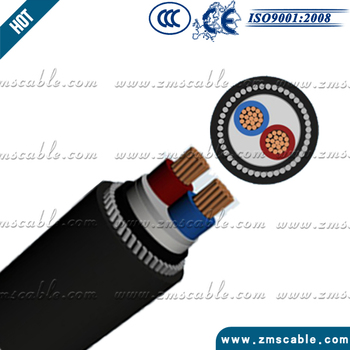Xlpe Insulation Pvc Sheathed 4 Core Armoured Underground