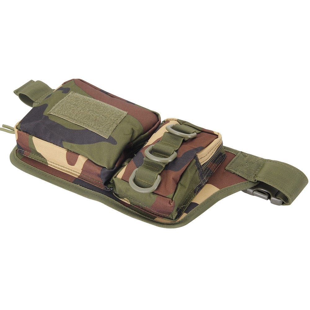 New Arrival Multifunction Outdoor Travel Sport Waterproof Waist Pack Messenger Camouflage Bag