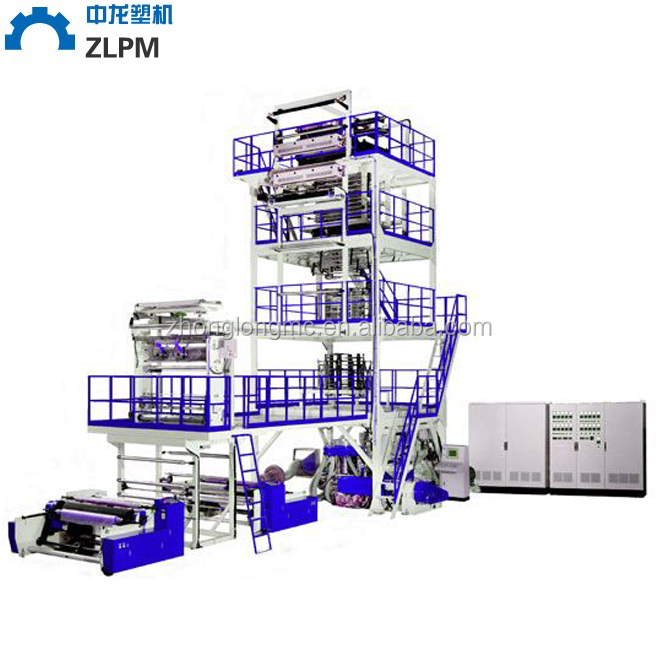 China factory wholesale long life stability HDPE Film Extruder/ Extrusion Machine