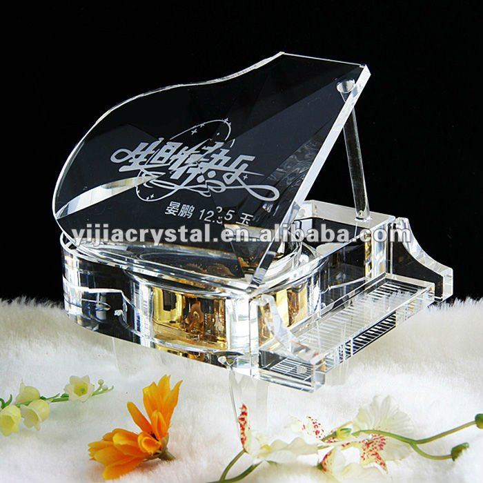 Personalized Crystal Music Piano