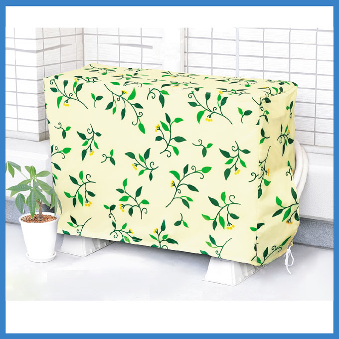 Custom waterproof decorative outdoor air conditioner cover