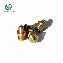 High quality copper plating m8x1 grease fitting size