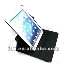 360 degree rotating leather stand case for the new ipad ipad3