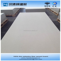 Non asbestos sheet cement fiber panel boardsCE approved clasee A1