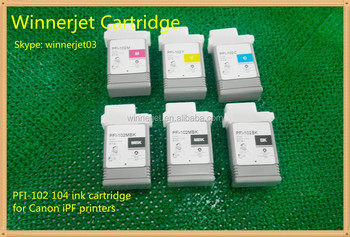 Compatible cartridges pfi- 102