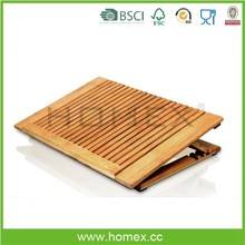 Portable Office And Home Bamboo Laptop Stand/Bamboo Laptop Holder/Homex_FSC/BSCI