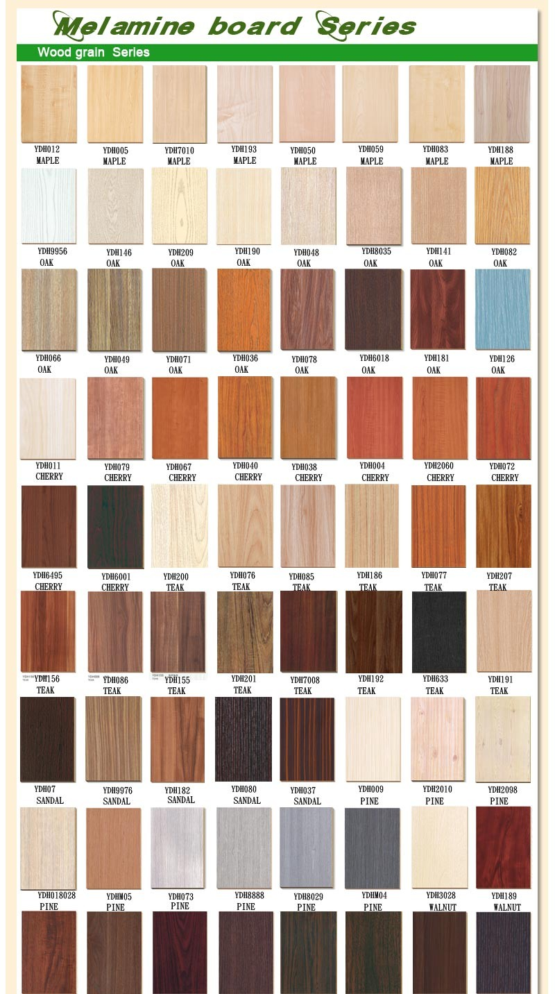 18mm 4x8 solid color melamine mdf panel E0 E1 E2 P2,furniture panel