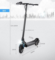 LY 2 wheels stand up aluminum folding portable electric scooter ES40 35-40KM/H 250W hub motor