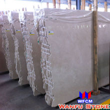 Cultural Marble Crema Marfil Slab For Project