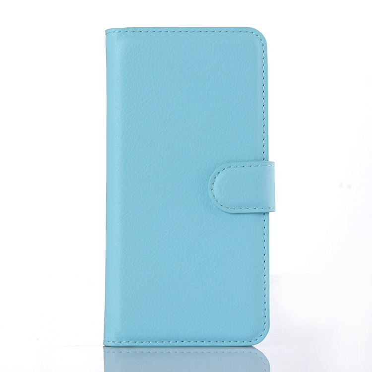 Factory Cheapest cowhide leather folio case for iphone 6s