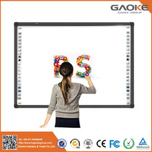 Made in China CE e-board BUSINESS 16* 9 projector screen big 130'' 104'' digital white board for classroom