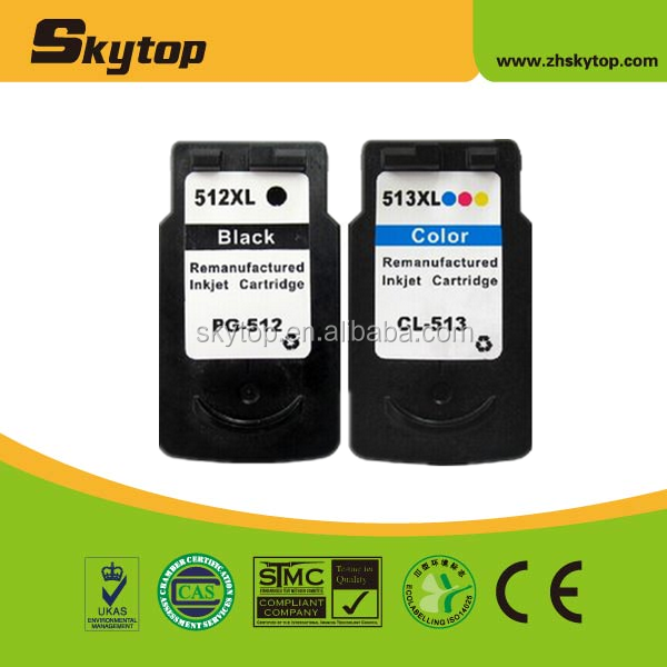 pg-512 cl-513 ink cartridge for canon pixma ip2700