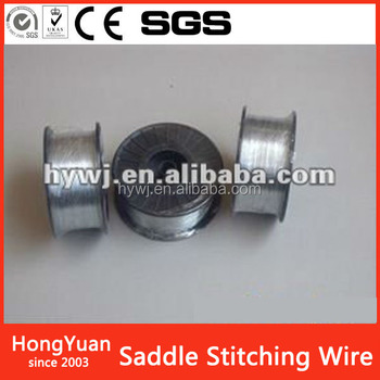 Direct factory Free Sample corrugate box stitching wire/Book Stitching Staple Binding Wire