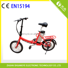 16 inch small folding electric bicycle with CE15194