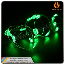 3*AA battery operated Four leaf Clover LED String Lights Copper Wire Lights Waterproof Starry String Lights
