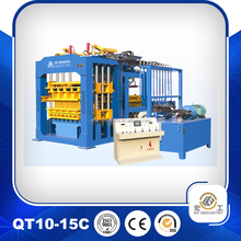 High quality QT10-15 flyash brick making machine foam concrete block machine