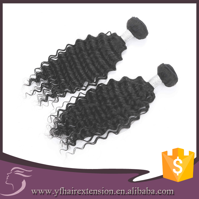 High Quality Cheap Deep Wave 8A Grade Brazilian Hair Weave Weaving