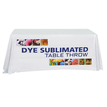 Custom Printed Trade Show table cloth 36x36 With full color printing