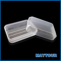 Wholesale Portable Hotel Usage Plastic Soap Holder Soap case/box for Travel