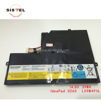 laptop battery for use with U260 L09M4P16