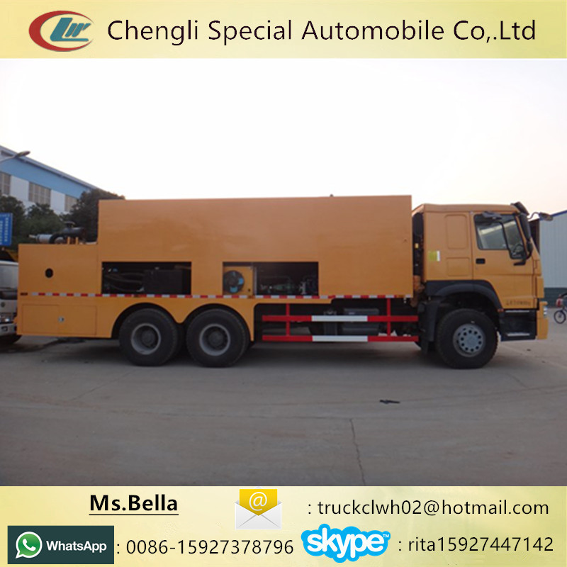 Rare Slurry Seal Coat Vehicle, Road Maintenance Slurry Seal Machine