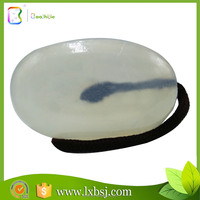 2015 hot sale crystal white essential soap