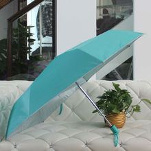 3 Fold auto open and close promotional umbrella umbrella