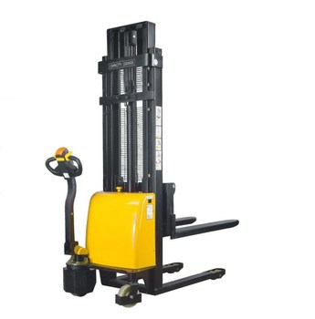 Hot sale professional lower price mechanical forklift 1.5ton electric stacker