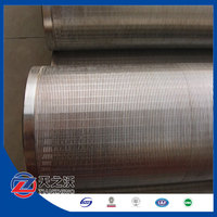 Johnson wire wrap screen stainless steel sand strainer