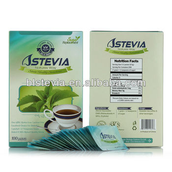natural sugar replacement --- STEVIA SACHETS