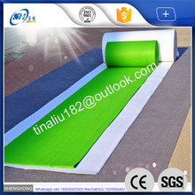 exhibition plain surface used carpet for sale