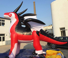 2018 New design Hot sale inflatable zenith dragon for advertising