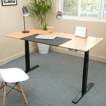 sit and stand up electric height adjustable desk