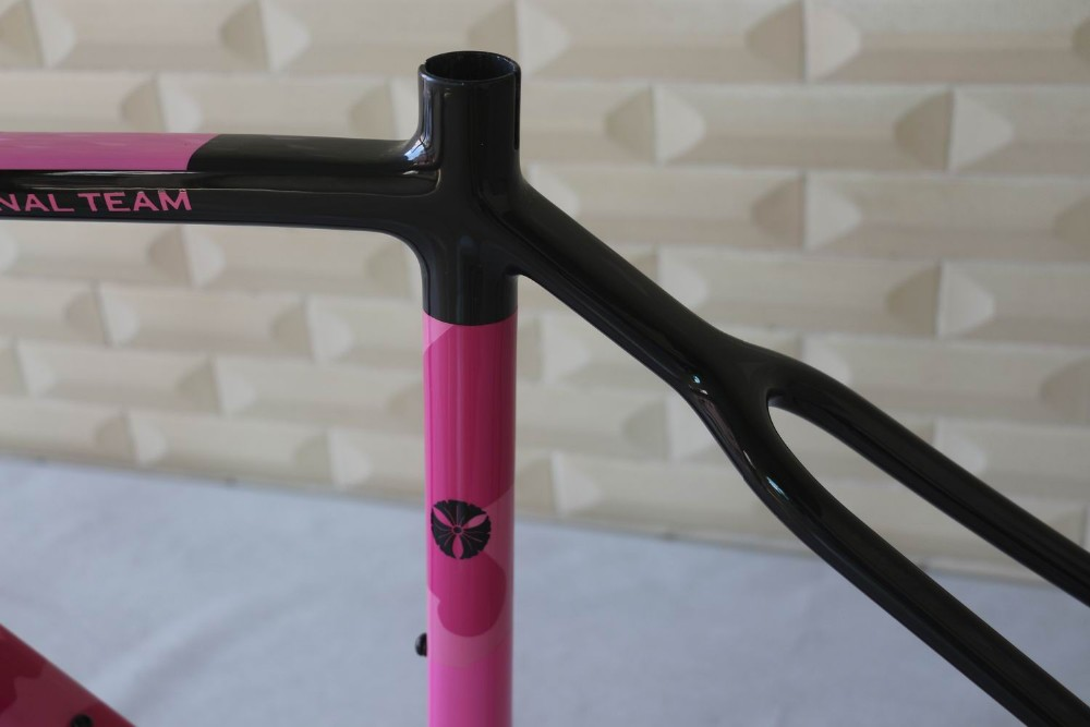 Hot Sale UCI Carbon Cyclocross Frame , complete cyclocross carbon frame
