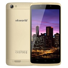 "Vkworld VK700MAX 5.0 ""IPS MTK6580 Quad Core 1 GB I280X720 Android 5.1 ponsel Pintar RAM 8 GB ROM WCDMA GPS 3G Mobile telephone"