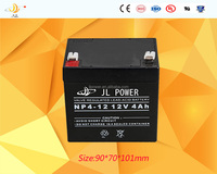 Factory product sealed rechargeable lead acid battery Solar AGM battery 12v4ah for electric toy car
