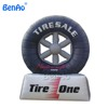 Z144 best popular promotional Cheap inflatable tyre model Advertising Tire for sale,Customize inflatable tire advertising