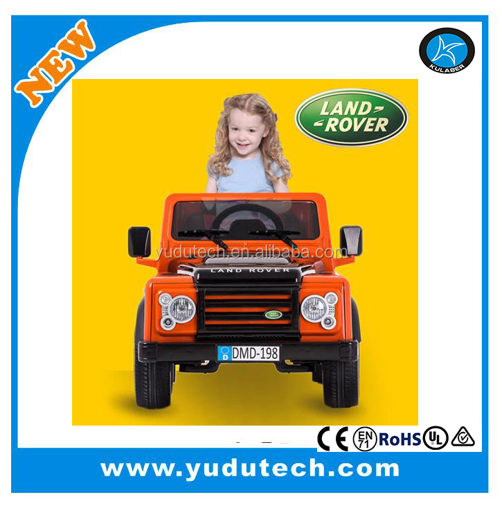 New Lisenced Land Rover ,remote control baby electric car,kids battery powered Mp3 2.4G blue tooth remote control ride on toys