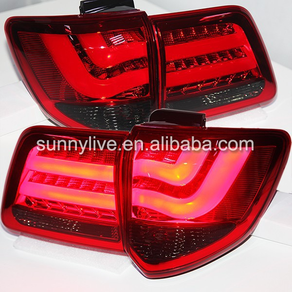 TOYOTA Fortuner LED Tail Lights 2012-2014 year Red Black Color V2 YZ