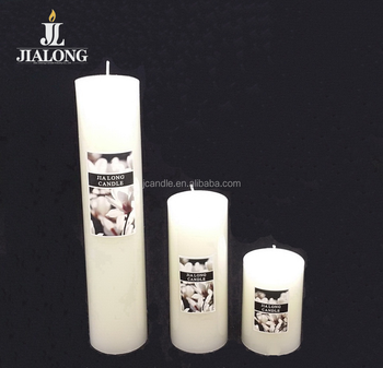 ivory color pillar candle 5cm dia. votive candles pillar shape classic dinner candle