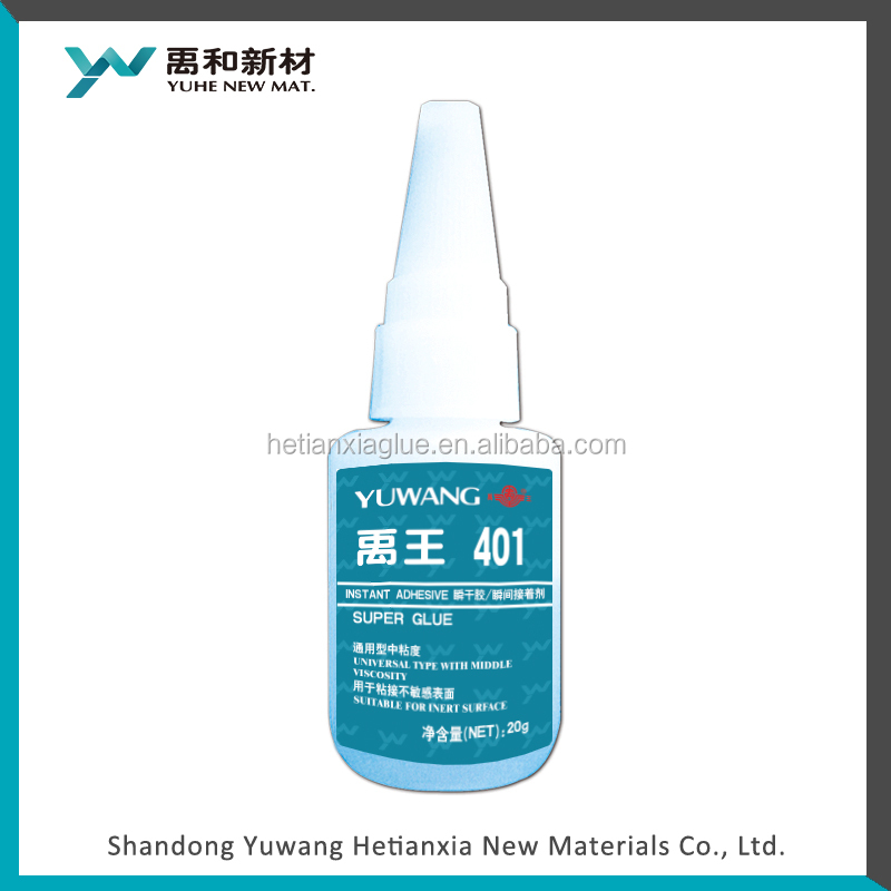 401 super glue viscosity as 80-120 mPa.s 20g bottle for industrial application