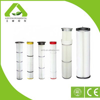 Silicon Long Pleated Replacement Cartridge Air Filter Manufacturer